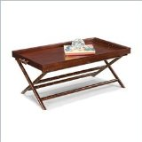 Home Styles Furniture West Indies Rectangle Wood Coffee Table