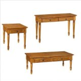 Ponderosa Coffee Table Set by Home Styles