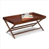 West Indies Storage Coffee Table in Espresso