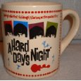Beatles A HARD DAYS NIGHT 14 oz Ceramic Coffee MUG