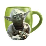 Vandor 18-Ounce Star Wars Yoda Ceramic Mug