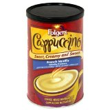 Folgers Cappuccino French Vanilla Beverage Mix