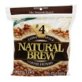 Natural Brew #4 Cone Natural Brown Paper Coffee Filters