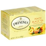 Twinings Peach Black Tea