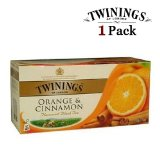Twinings Black Tea Orange & Cinnamon Tea