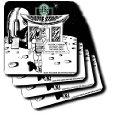 Starbucks Is Everywhere Coasters