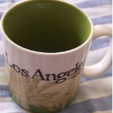 2009 Starbucks huge Los Angeles collector coffee mug