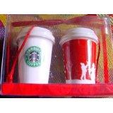 2006 Starbucks Christmas Ornaments
