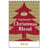 2008 Starbucks Christmas Blend Whole Bean One Pound