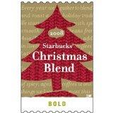 2008 Starbucks Christmas Blend Whole Bean One Pound