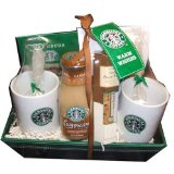 Starbucks Warm Wishes Christmas Holiday Gift Basket