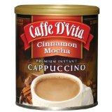 Caffe D'Vita Cinnamon Mocha Instant Cappuccino