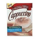 General Foods International Coffees Decaf French Vanilla Cappuccino