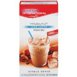 Maxwell House International Coffee Hazelnut Iced Latte Singles
