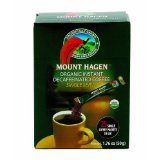 Mount Hagen Single Serve Instant Coffee Sticks Decaffeinated