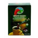 Mount Hagen Single Serve Instant Coffee Sticks Decaffeinated