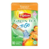Lipton Green Tea To Go, Mandarin and Mango
