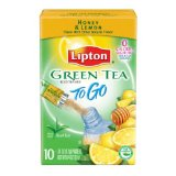 Lipton Honey & Lemon Green Tea To Go