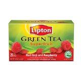 Lipton Superfruit Red Goji with Rasbperry Green Tea Bags