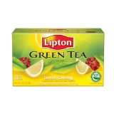 Lipton Lemon Ginseng Green Tea Tea Bags