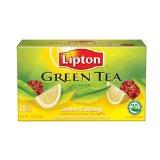 Lipton Lemon Ginseng Green Tea Tea Bags