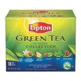 Lipton Green Tea Collection - Variety Pack of Six Flavors