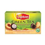 Lipton Superfruit White Mangosteen with Peach Green Tea Bags