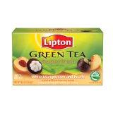 Lipton Superfruit White Mangosteen with Peach Green Tea Bags