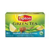 Lipton Decaf Honey Lemon Green Tea