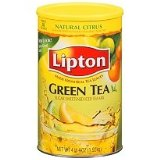 Lipton Citrus Green Tea Iced Tea Mix