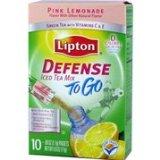 Lipton Defense Pink Lemonade Green Tea to Go