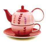 Hues&Brews Heart Vines Tea For 1