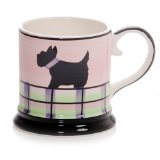 Hues&Brews Scotty 14-Ounce Tankard Mugs Set of 4