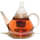 GROSCHE Merlin 40 ounce Thermal Glass Infuser Teapot