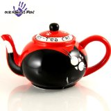 Whimsical Fat And Happy Tuxedo Cat/Kit-Tea Teapot For Cat Lovers By Enesco