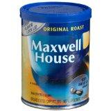Maxwell House Original Roast (Medium) Ground Coffee