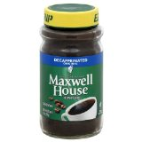 Instant Maxwell House Coffee, Original, Decaffeinated