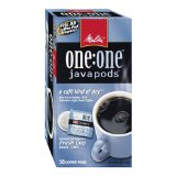 Melitta One:One Java Pods, A Cafe Kind of Day, Light Roast Coffee