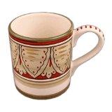 Starbucks Coffee Holiday DEURTA ITALY Hand Painted Mug 10 oz Version B 2008 Collection