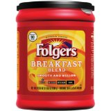 Folgers Breakfast Blend Ground Coffee
