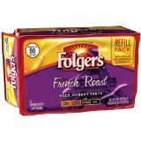 Folgers French Roast Ground Coffee Refill Pack