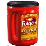 Folgers Custom Roast Mild 48 oz