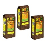 Pura Vida Whole Bean Coffee, Variety Pack of 3 Flavors (Sumatra, Ethiopia, and Colombia)