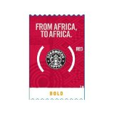 Starbucks From Africa To Africa Red, Brown Spice and Citrus
