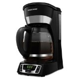 Black & Decker CM1010B 12-Cup Programmable Coffeemaker with Glass Carafe