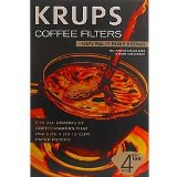 Krups 983-10 Size 4 natural brown paper filters
