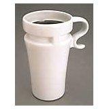 Ceramic Coffee Travel Mugs - White Mugs