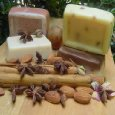 Four Bar Variety Pack Goat Milk - Coffee- Lemongrass - Butter Milk- Lavender- Oatmeal Four 3 Oz Bars