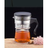 Glass Single Use Cofee Tea Maker Northwest Glass Designs 11oz Yama