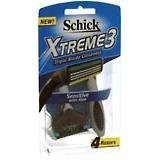 Schick Extreme III Sensitive Razor With Aloe